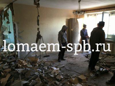 демонтаж старого ремонта квартиры
