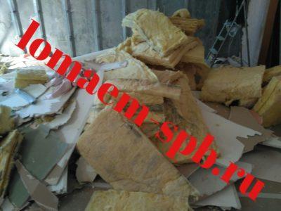 стоимость демонтажа гипсокартонных перегородок