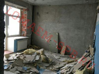 демонтаж стен из гипсокартона цена