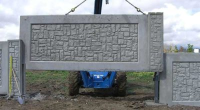Демонтаж бетонного забора