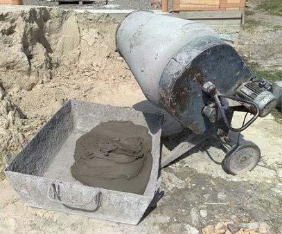 Демонтаж цементной бочки