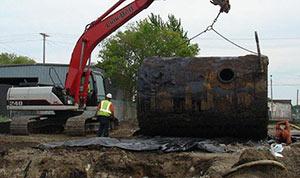 Демонтаж резервуаров