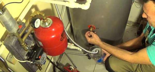 Демонтаж газового котла