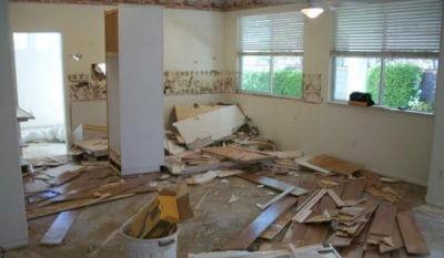 Демонтаж кухонного гарнитура