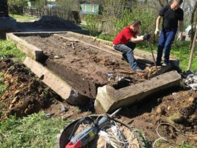 демонтаж бетонного фундамента цена
